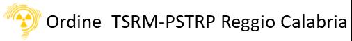Ordine TSRM e PSTRP di Reggio Calabria Logo