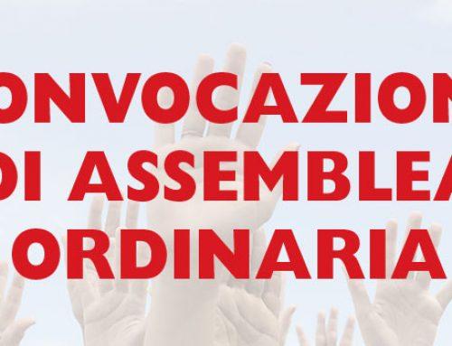 Convocazione Assemblea Ordinaria – 29 e 30 Dicembre 2020