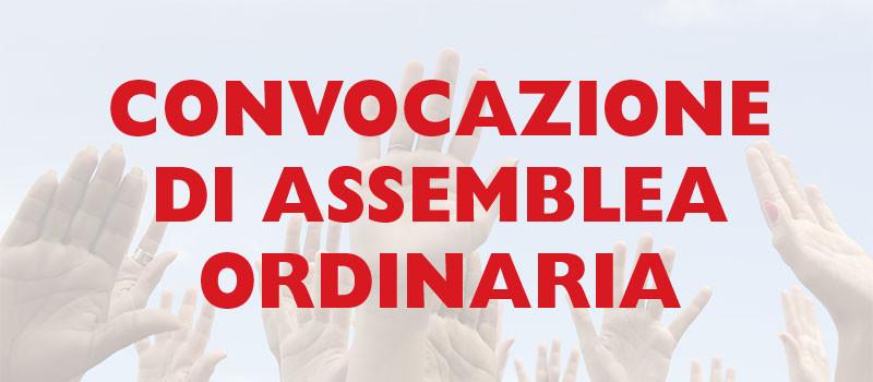 Convocazione Assemblea Annuale iscritti – 16 Maggio 2021
